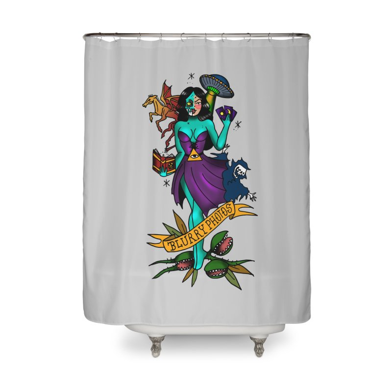 Banshee Home Shower Curtain by Blurry Photos's Artist Shop