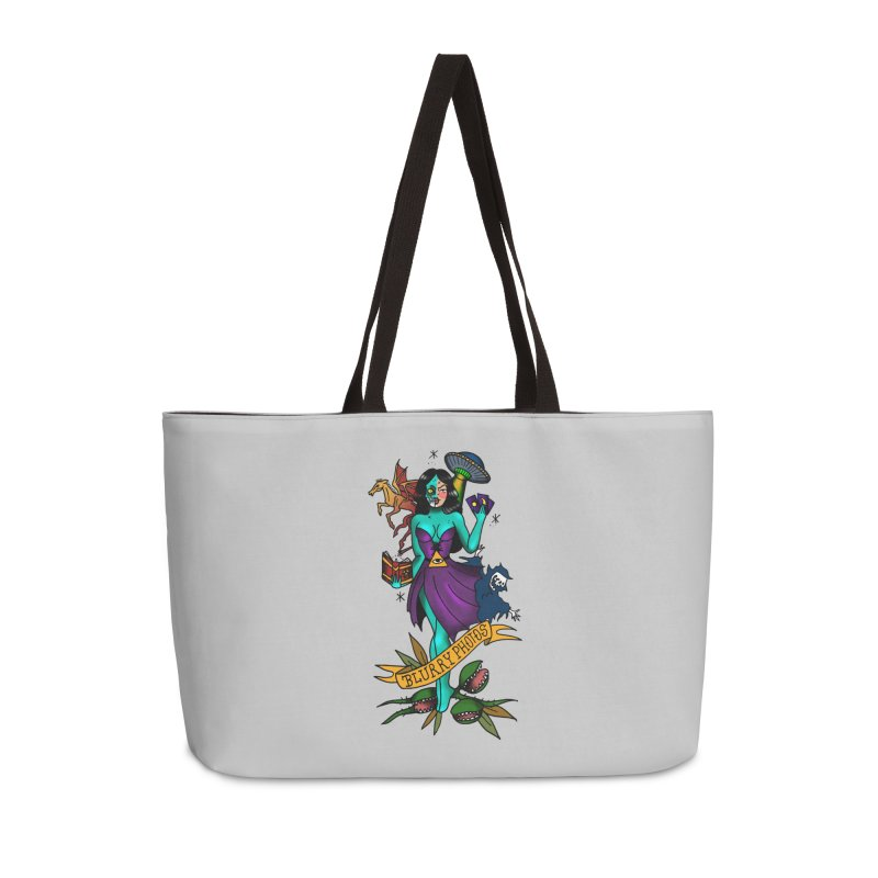 Banshee Accessories Weekender Bag Bag by Blurry Photos's Artist Shop