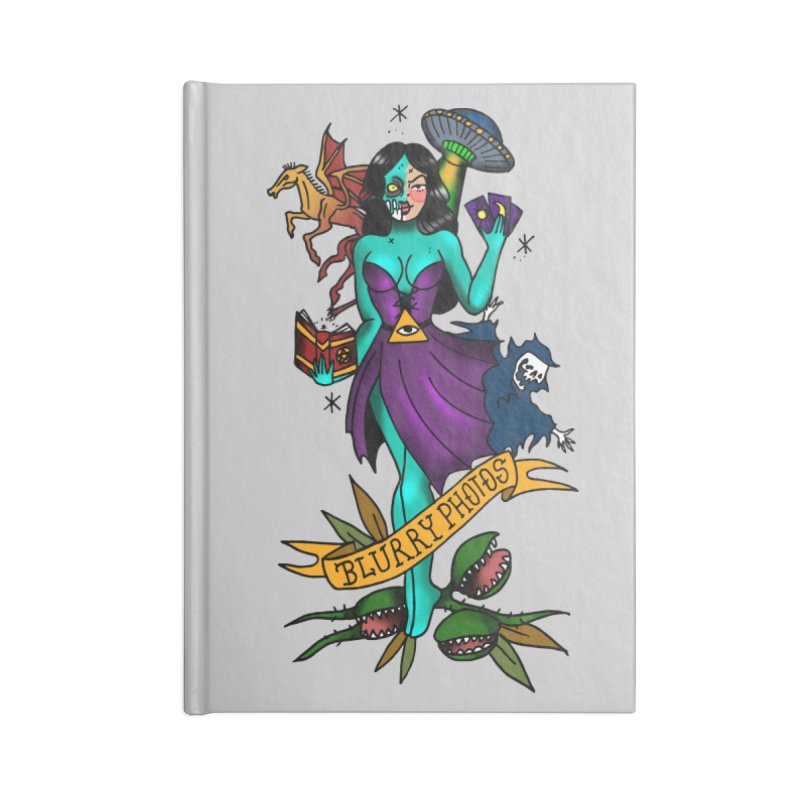 Banshee Accessories Blank Journal Notebook by Blurry Photos's Artist Shop