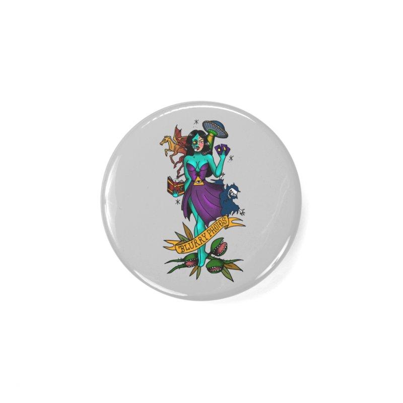 Banshee Accessories Button by Blurry Photos's Artist Shop