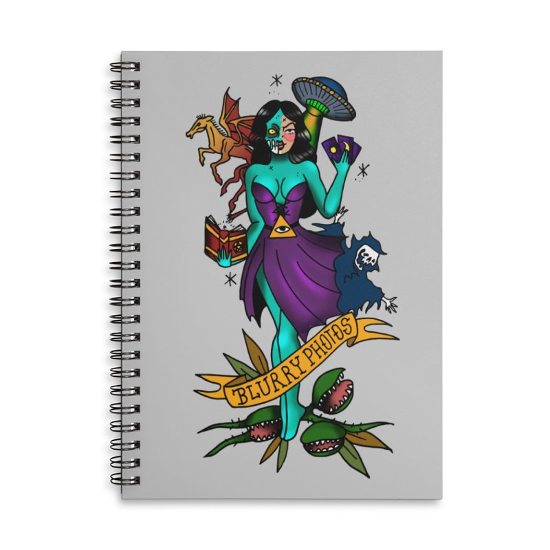 Banshee Accessories Lined Spiral Notebook by Blurry Photos's Artist Shop