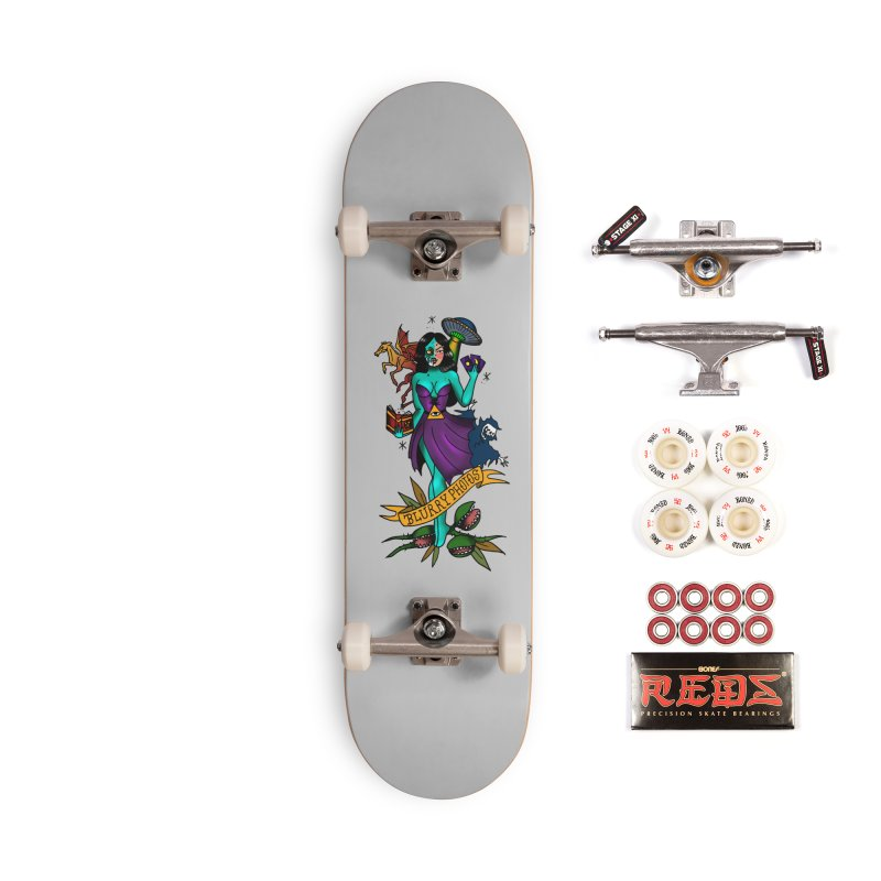 Banshee Accessories Complete - Pro Skateboard by Blurry Photos's Artist Shop