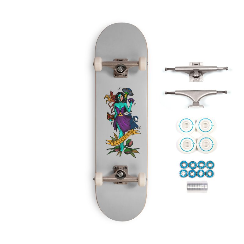 Banshee Accessories Complete - Basic Skateboard by Blurry Photos's Artist Shop
