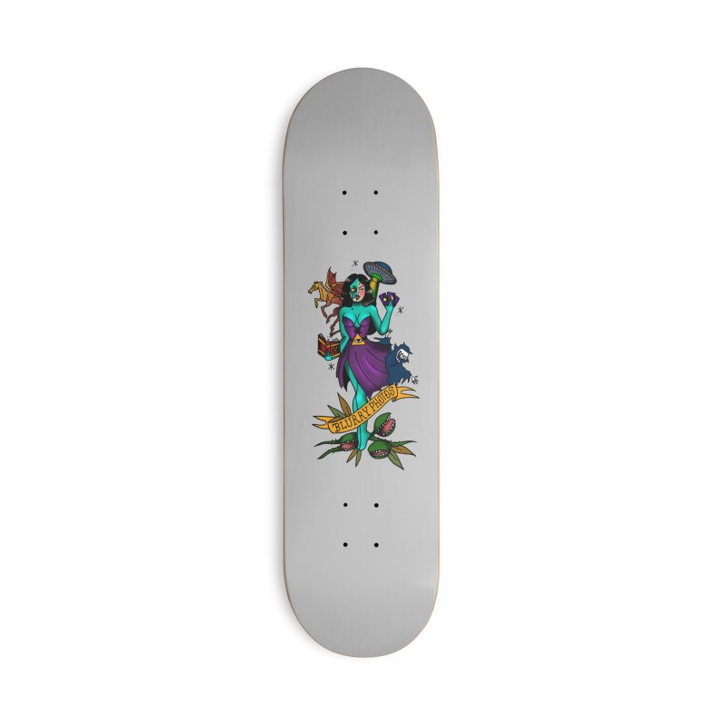 Banshee Accessories Skateboard by Blurry Photos's Artist Shop