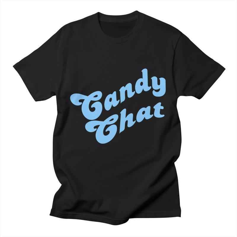Candy Chat Logo Men's T-Shirt by Blurry Photos's Artist Shop