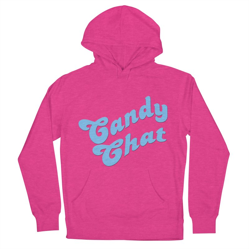 Candy Chat Logo Women's French Terry Pullover Hoody by Blurry Photos's Artist Shop