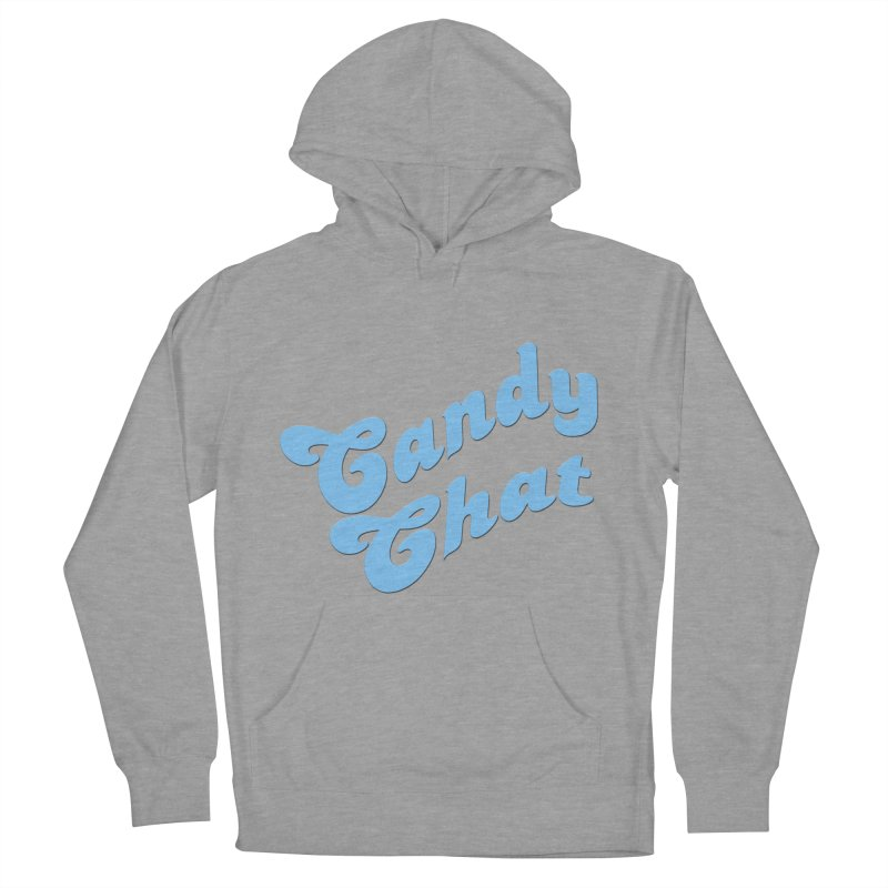 Candy Chat Logo Men's French Terry Pullover Hoody by Blurry Photos's Artist Shop