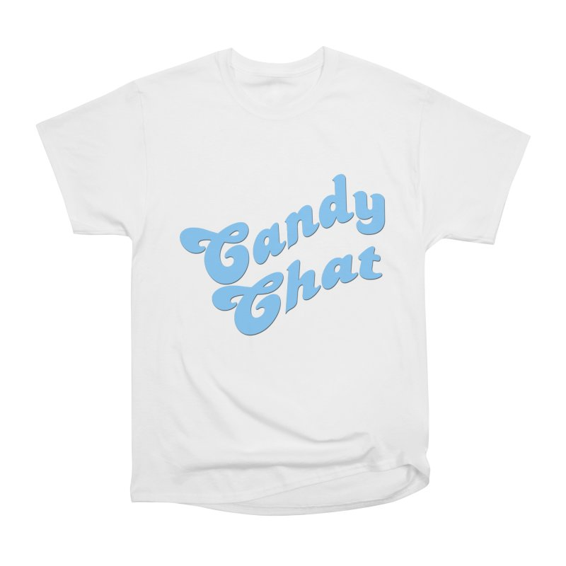 Candy Chat Logo Men's Heavyweight T-Shirt by Blurry Photos's Artist Shop