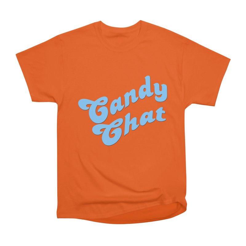 Candy Chat Logo Men's Heavyweight T-Shirt by Blurry Photos's Artist Shop