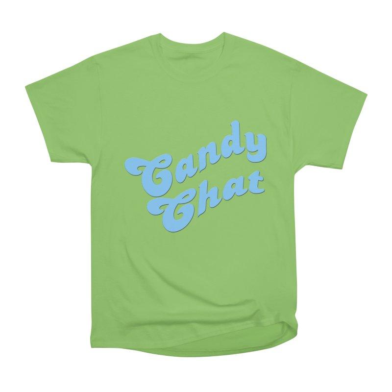 Candy Chat Logo Women's Heavyweight Unisex T-Shirt by Blurry Photos's Artist Shop