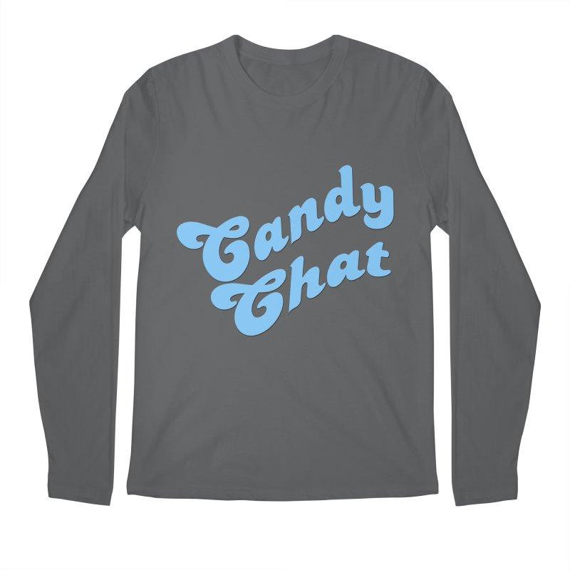 Candy Chat Logo Men's Regular Longsleeve T-Shirt by Blurry Photos's Artist Shop