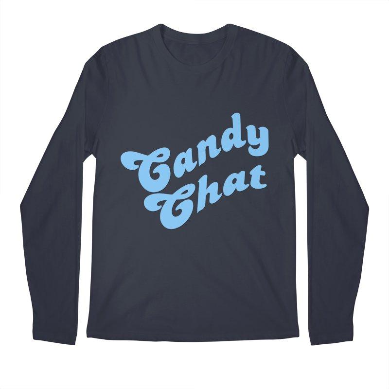 Candy Chat Logo Men's Longsleeve T-Shirt by Blurry Photos's Artist Shop