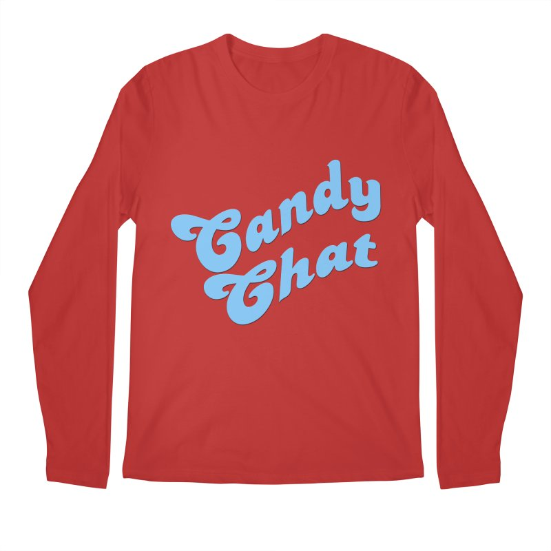 Candy Chat Logo Men's Longsleeve T-Shirt by Blurry Photos's Artist Shop