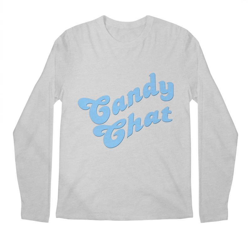 Candy Chat Logo Men's Regular Longsleeve T-Shirt by Blurry Photos's Artist Shop