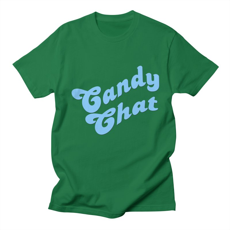 Candy Chat Logo Men's T-Shirt by Blurry Photos's Artist Shop