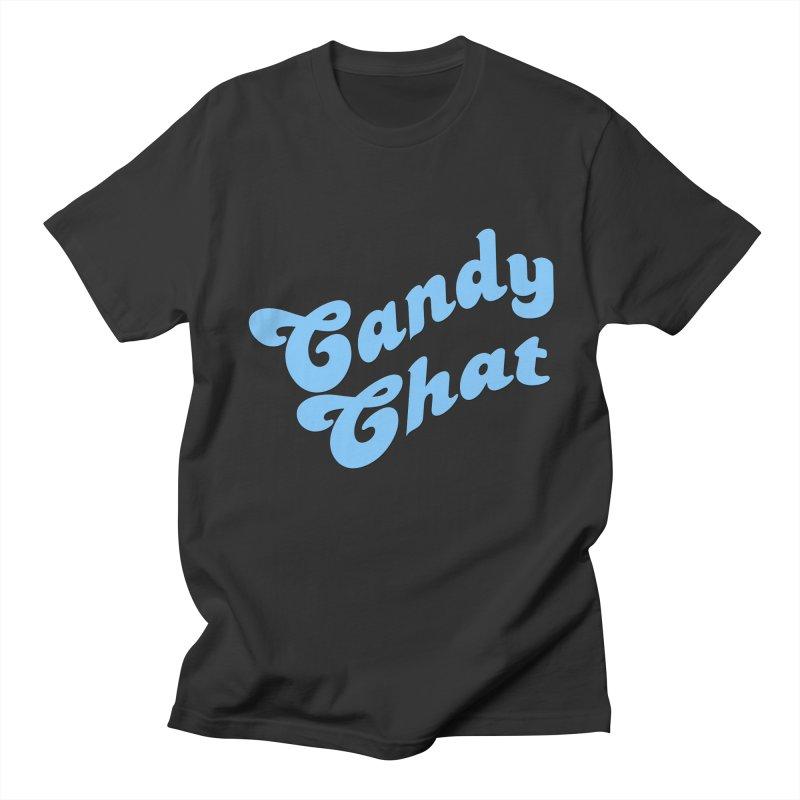 Candy Chat Logo Men's Regular T-Shirt by Blurry Photos's Artist Shop