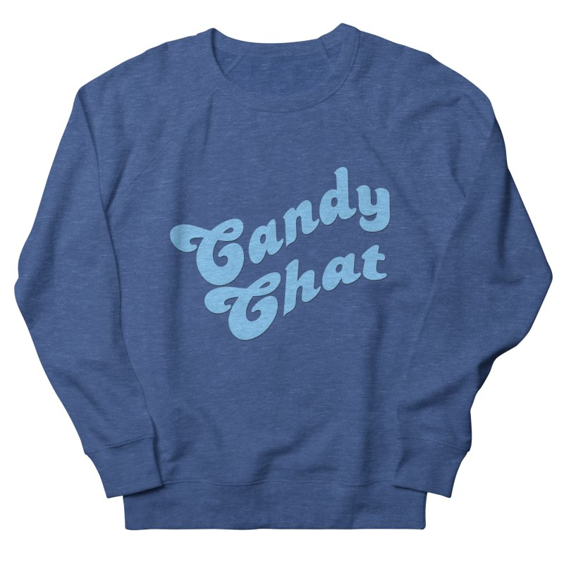 Candy Chat Logo Men's French Terry Sweatshirt by Blurry Photos's Artist Shop