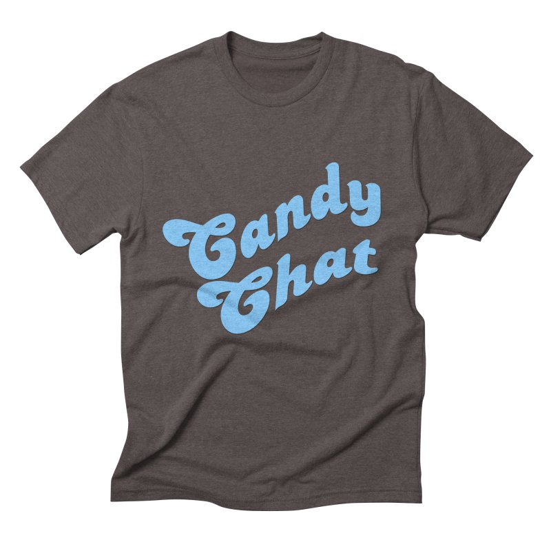 Candy Chat Logo Men's Triblend T-Shirt by Blurry Photos's Artist Shop