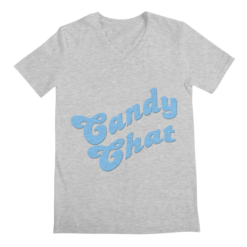 Candy Chat Logo Men's V-Neck by Blurry Photos's Artist Shop