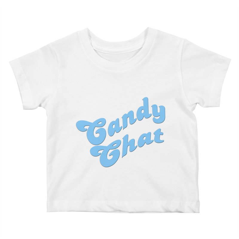 Candy Chat Logo Kids Baby T-Shirt by Blurry Photos's Artist Shop