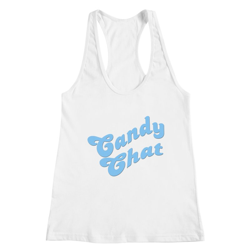 Candy Chat Logo Women's Racerback Tank by Blurry Photos's Artist Shop
