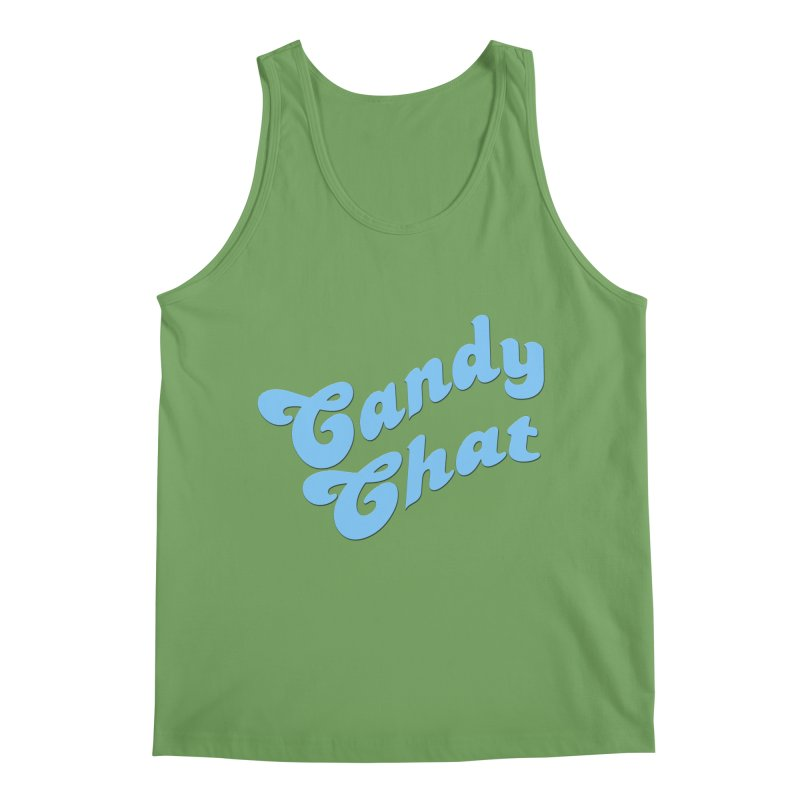 Candy Chat Logo Men's Tank by Blurry Photos's Artist Shop