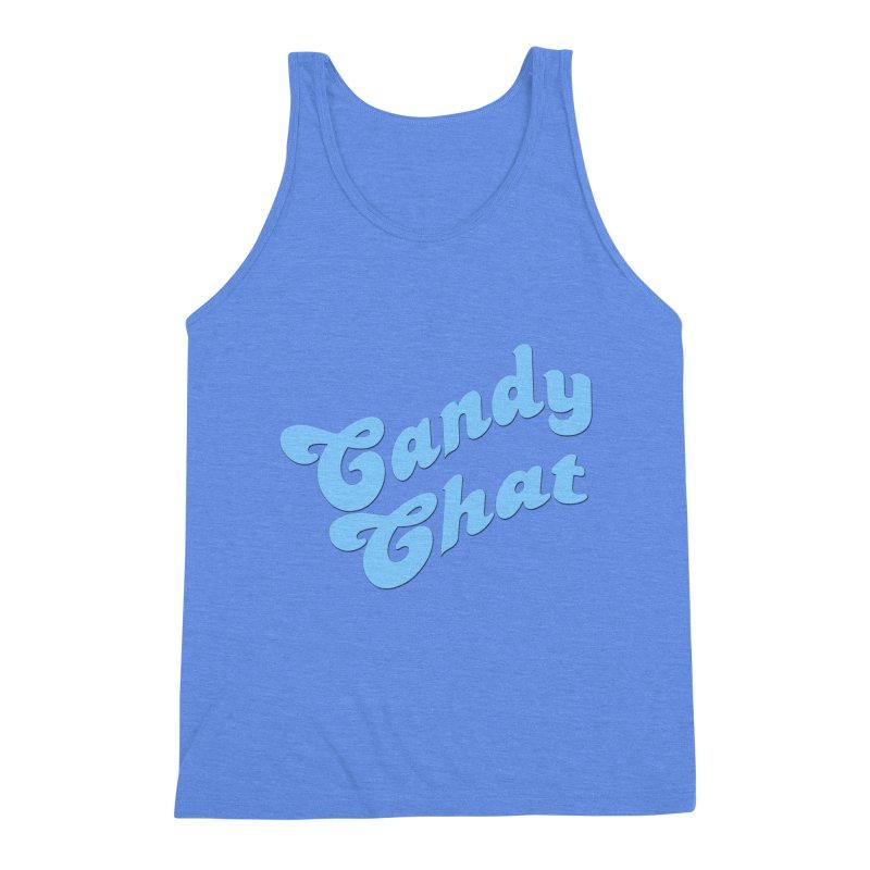 Candy Chat Logo Men's Triblend Tank by Blurry Photos's Artist Shop