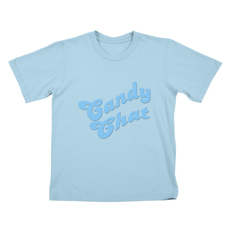 Candy Chat Logo Kids T-Shirt by Blurry Photos's Artist Shop