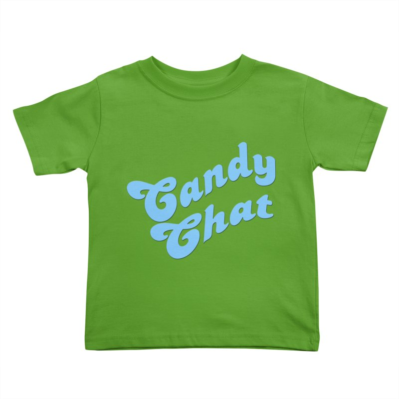 Candy Chat Logo Kids Toddler T-Shirt by Blurry Photos's Artist Shop