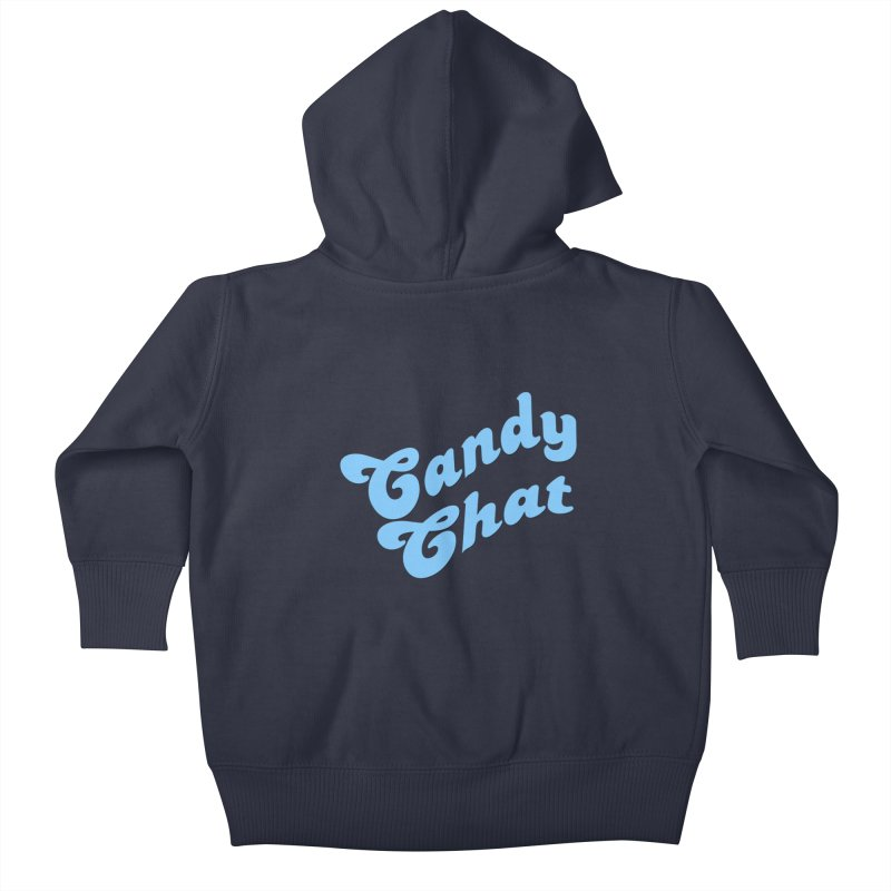 Candy Chat Logo Kids Baby Zip-Up Hoody by Blurry Photos's Artist Shop