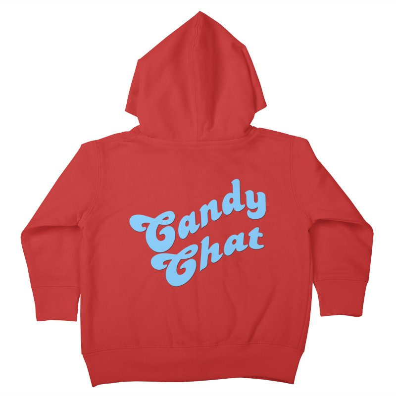 Candy Chat Logo Kids Toddler Zip-Up Hoody by Blurry Photos's Artist Shop