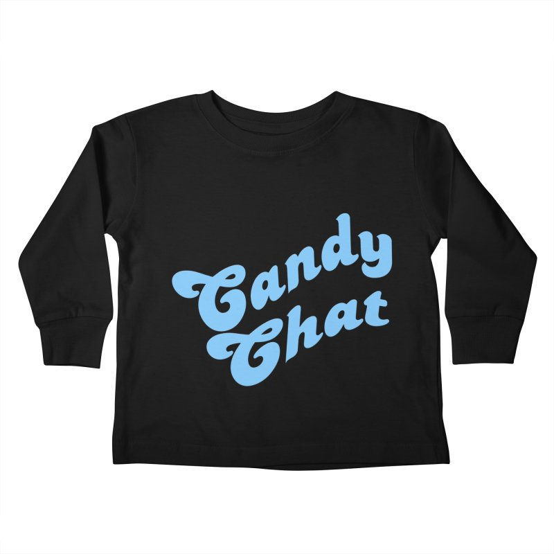 Candy Chat Logo Kids Toddler Longsleeve T-Shirt by Blurry Photos's Artist Shop