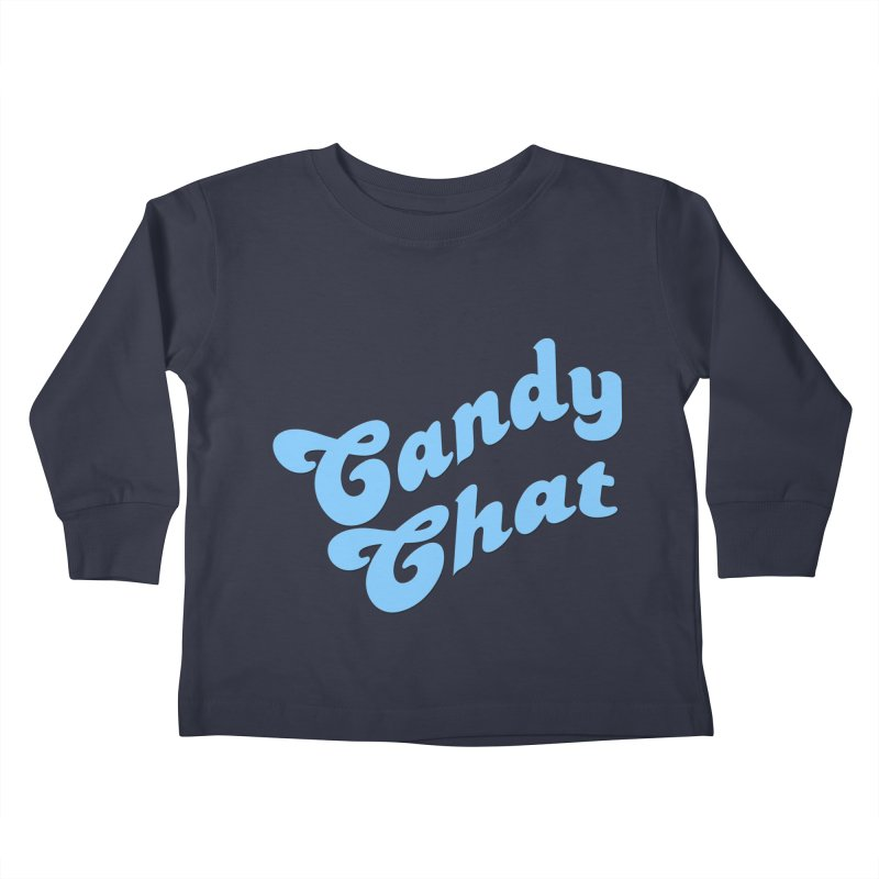 Candy Chat Logo Kids Toddler Longsleeve T-Shirt by Blurry Photos's Artist Shop