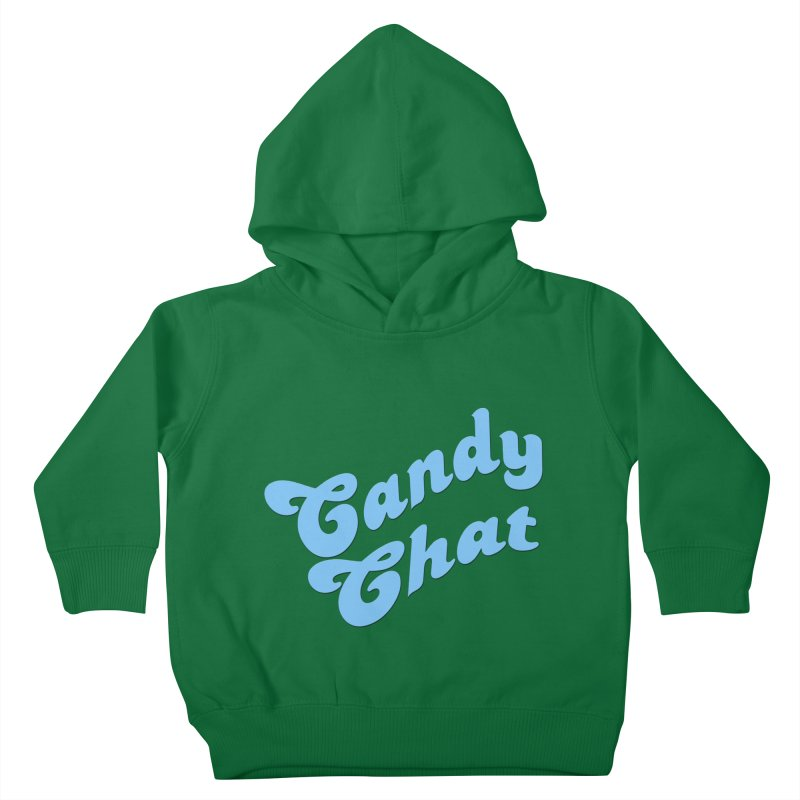 Candy Chat Logo Kids Toddler Pullover Hoody by Blurry Photos's Artist Shop
