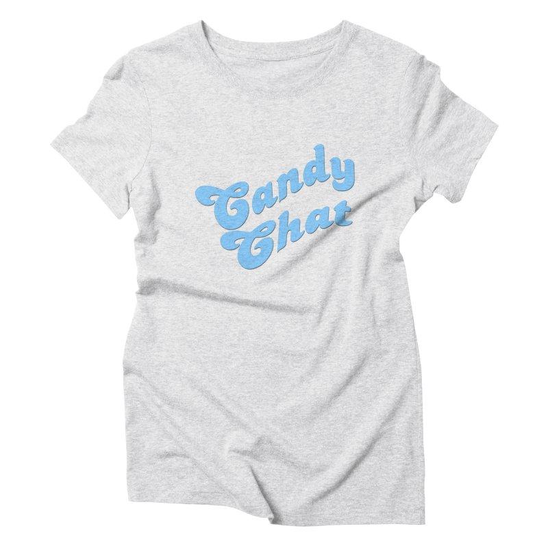 Candy Chat Logo Women's T-Shirt by Blurry Photos's Artist Shop