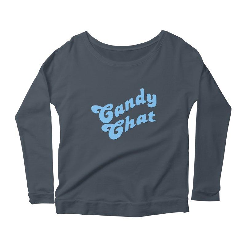 Candy Chat Logo Women's Scoop Neck Longsleeve T-Shirt by Blurry Photos's Artist Shop