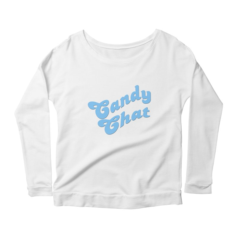Candy Chat Logo Women's Scoop Neck Longsleeve T-Shirt by Blurry Photos's Artist Shop