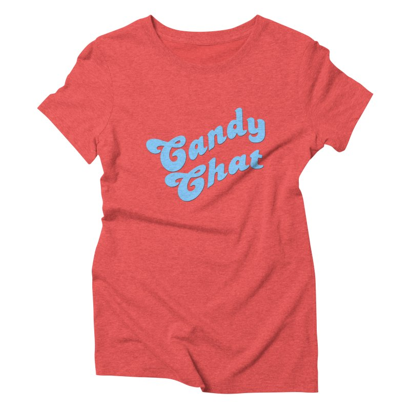 Candy Chat Logo Women's Triblend T-Shirt by Blurry Photos's Artist Shop