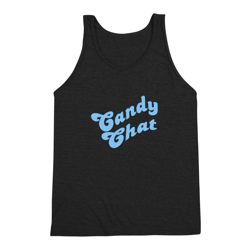 Candy Chat Logo Men's Triblend Tank by Blurry Photos's Artist Shop