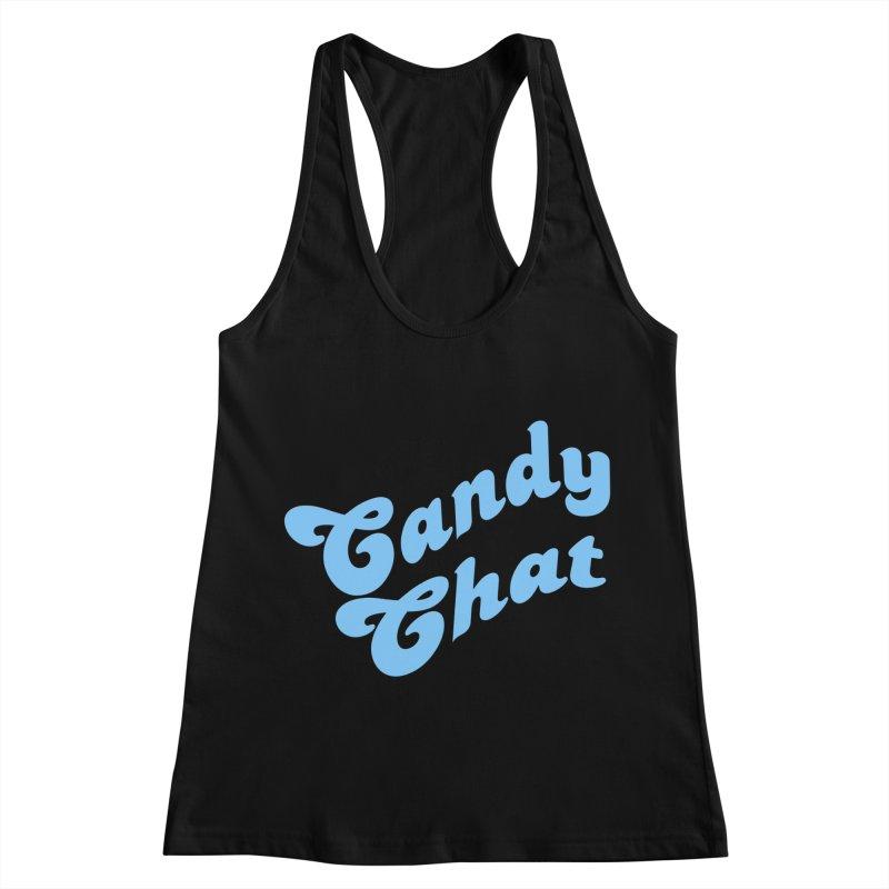 Candy Chat Logo Women's Racerback Tank by Blurry Photos's Artist Shop