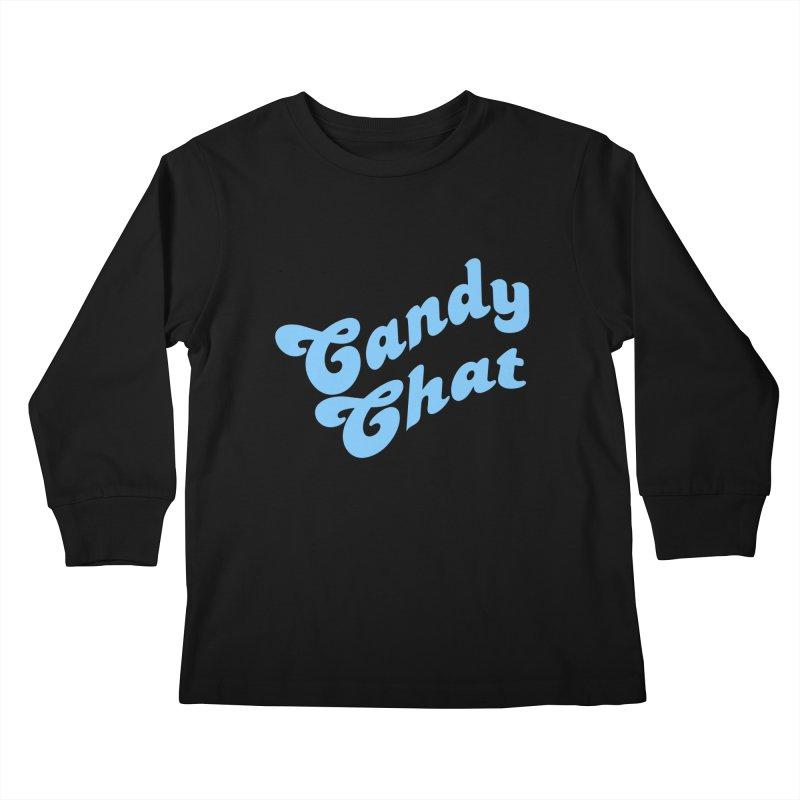 Candy Chat Logo Kids Longsleeve T-Shirt by Blurry Photos's Artist Shop