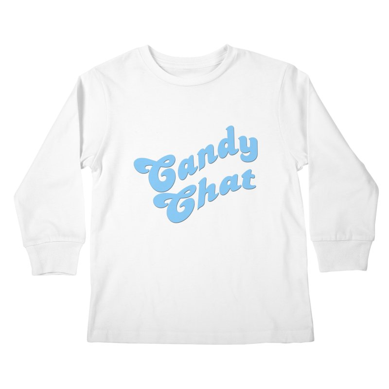 Candy Chat Logo Kids Longsleeve T-Shirt by Blurry Photos's Artist Shop