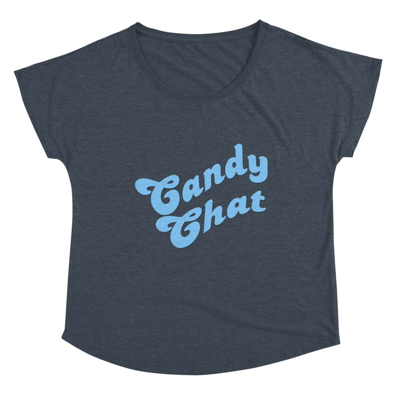 Candy Chat Logo Women's Scoop Neck by Blurry Photos's Artist Shop