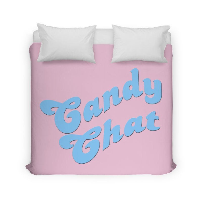 Candy Chat Logo Home Duvet by Blurry Photos's Artist Shop
