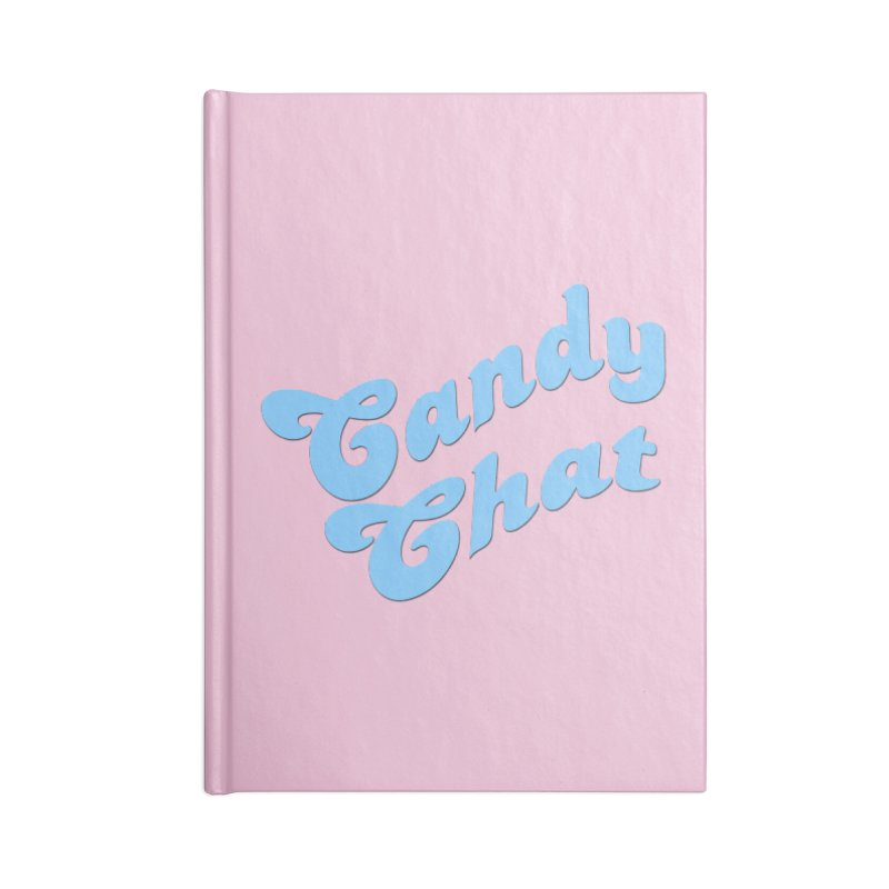 Candy Chat Logo Accessories Blank Journal Notebook by Blurry Photos's Artist Shop