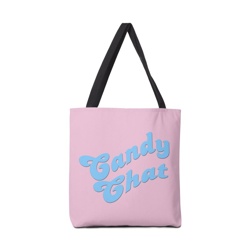 Candy Chat Logo Accessories Tote Bag Bag by Blurry Photos's Artist Shop