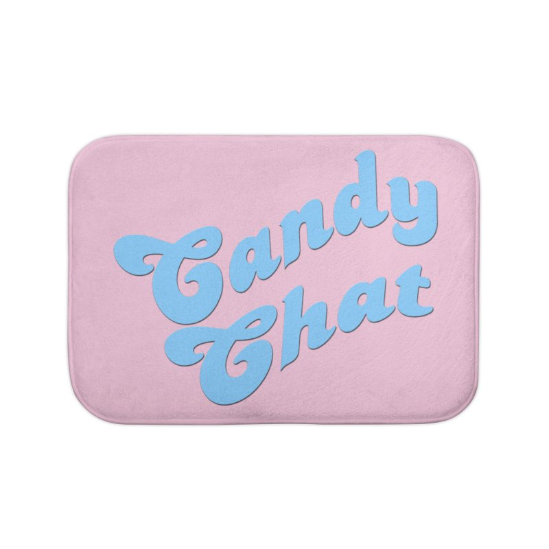 Candy Chat Logo Home Bath Mat by Blurry Photos's Artist Shop