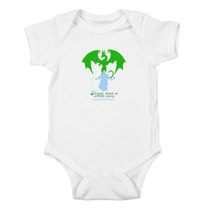 Jesus was a Whip Guy Kids Baby Bodysuit by Blurry Photos's Artist Shop