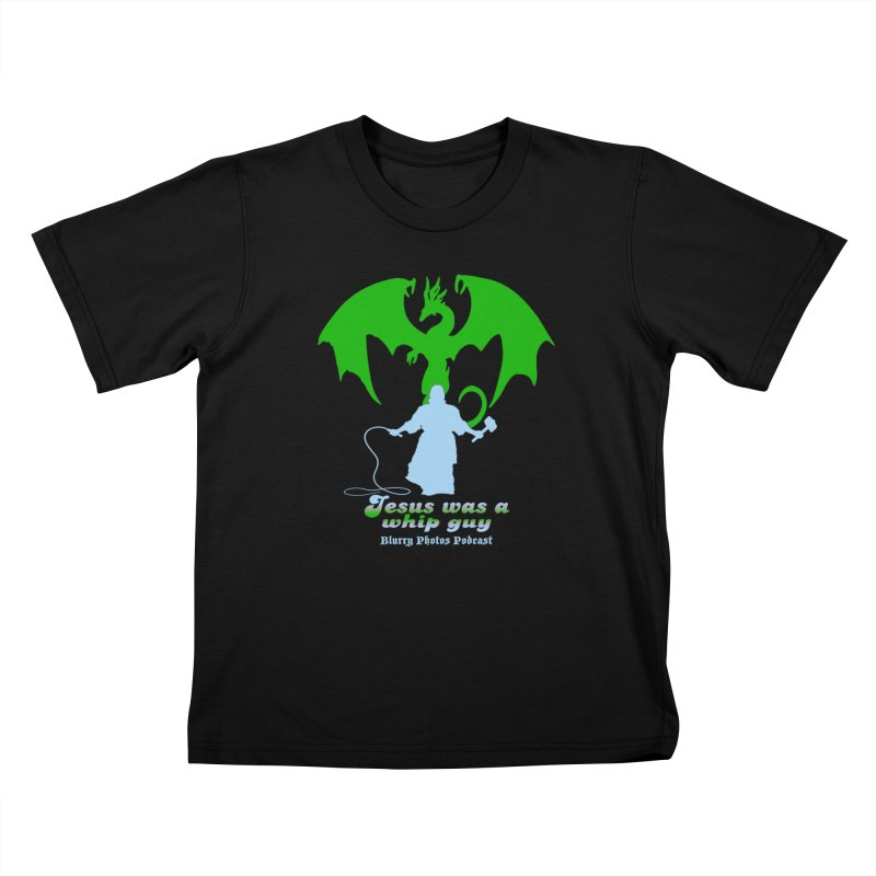 Jesus was a Whip Guy Kids T-Shirt by Blurry Photos's Artist Shop