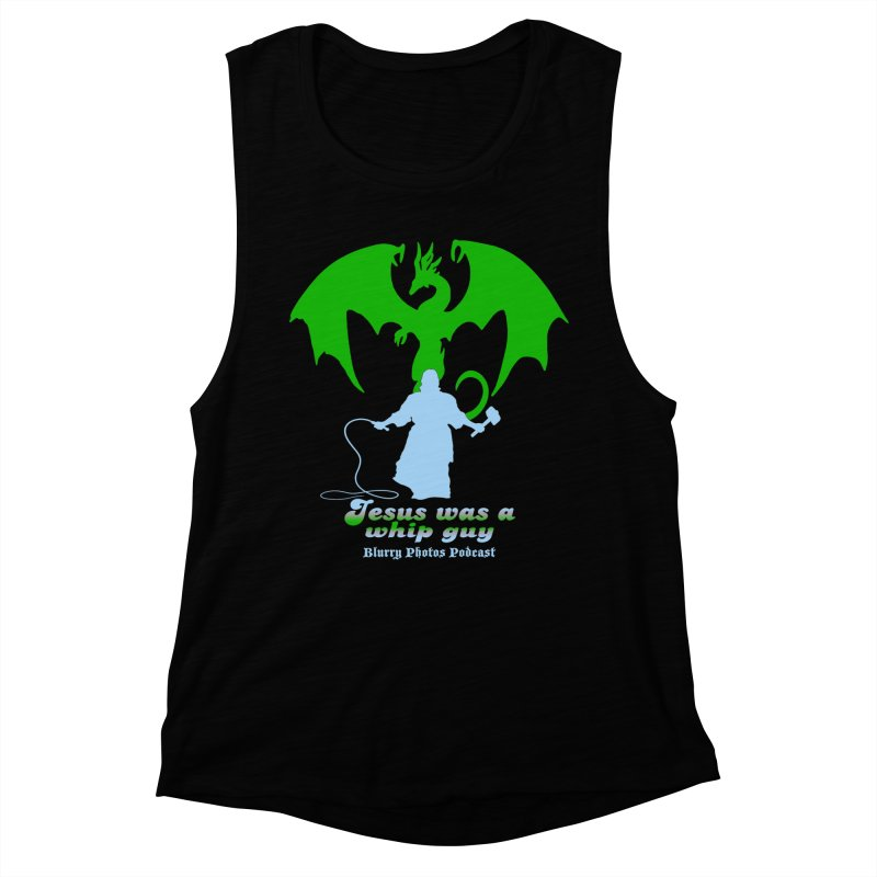 Jesus was a Whip Guy Women's Muscle Tank by Blurry Photos's Artist Shop